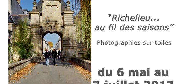 """Vernissage de l'exposition """"Richelieu au fil des saisons"""""""