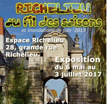 """Exposition """"Richelieu au fil des saison"""" du 6 mai au 3 juillet"""